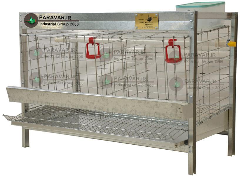 قفس یک طبقه مرغ