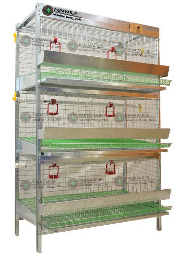 قفس سه طبقه کبک