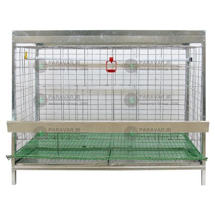 قفس مرغ و خروس امپراطور 1 طبقه